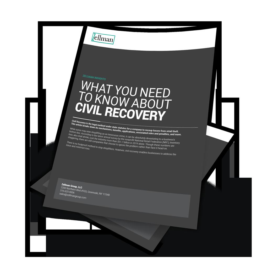 Zellman Civil Recovery Ebook Cover